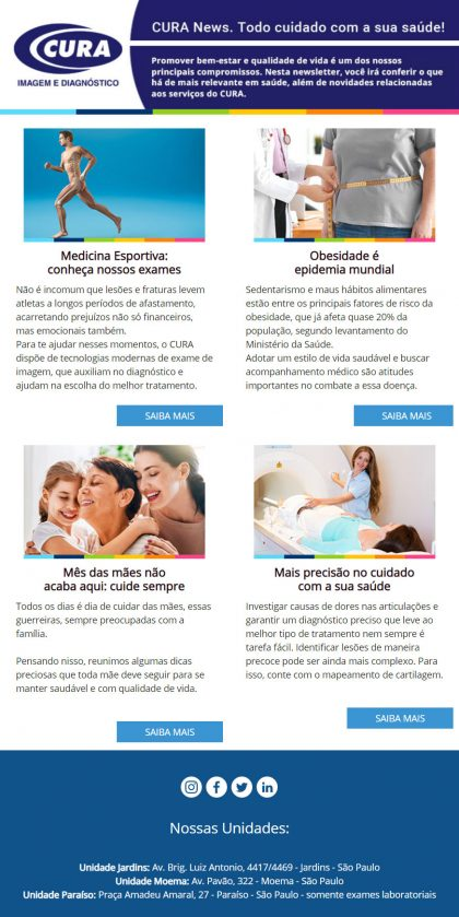 Cura Newsletter
